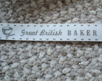 great British baker ribbon