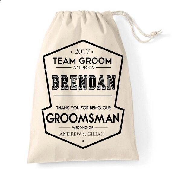 Personalised Wedding Usher Gifts : Personalised Groomsman Usher Best Man Wedding favour thank you ...