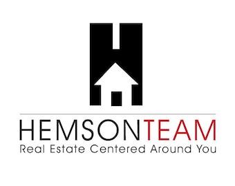 House Custom Logo Design. Premade Logo Design. Realtor Logo, Real Estate  Logo,
