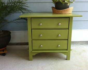 hand made 3 drawer chest