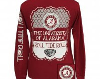 University of Alabama Roll Tide shirt NEW
