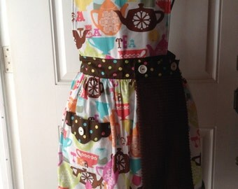 Adult apron w/ removable hand towel