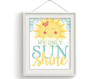 My Only Sunshine Wall Art