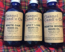 White Oak Essential Oil Beard Oil by Flannel Candle