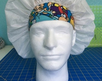 Reversible scrub headband