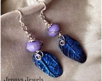 Secret Winter Garden Earrings