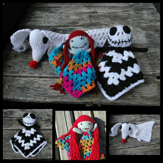 Crochet Patterns Nightmare Before Christmas : PATTERN ONLY! jack/sally/zero/ nightmare before christmas/crochet ...