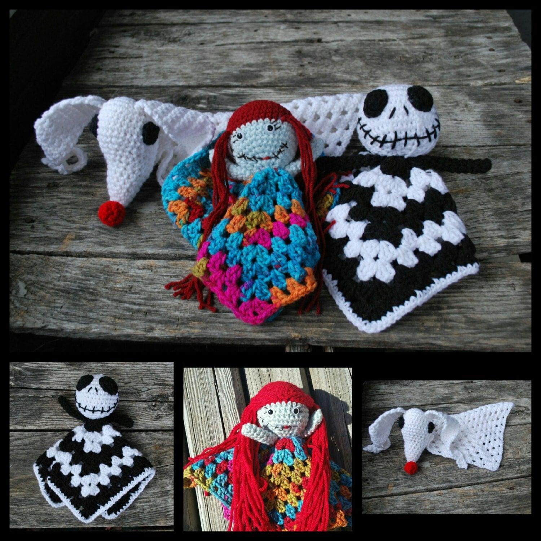 Knitting Pattern Nightmare Before Christmas : PATTERN ONLY jack/sally/zero/ nightmare before