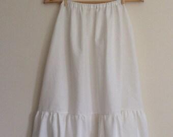 Women's full-length petticoat, Ladies long petticoat, Costume petticoat