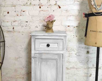 Painted Cottage Prairie Chic Chippy Hand Made Farmhouse Cabinet PR184