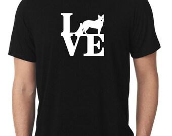 Love Australian Cattle Dog T-Shirt park heeler T271