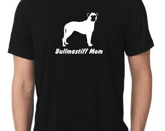 Bullmastiff Mom T-Shirt T438