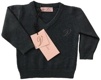 Virkotie STEEL 100% Cashmere Sweater