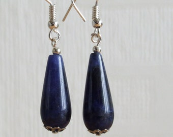 Sodalite Drop earrings