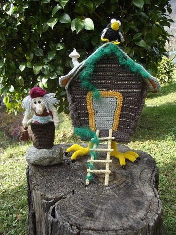 das haus der baba jaga crochet amigurumi spielzeug. Black Bedroom Furniture Sets. Home Design Ideas