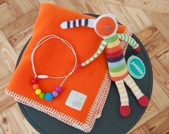 New Baby Gift Set - Brights 'Mummy & Me' Set