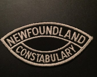 OLD Newfoundland Constabulary Patch