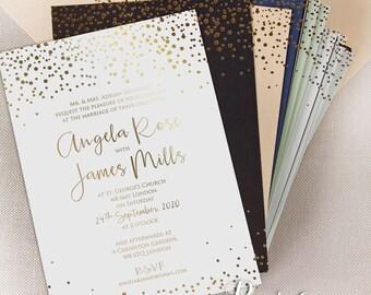 Elegant wedding invitations | Etsy
