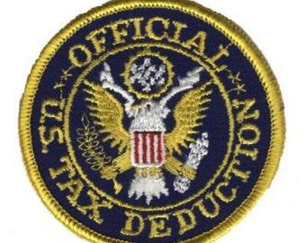 U.S. Tax Deduction Patch - IRS