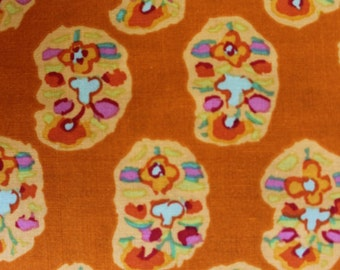 Kaffe Fassett Asha Ochre, Cotton Woven Fabric, 1/2 yd