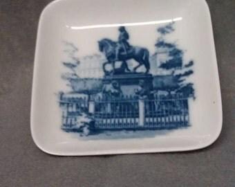 No longer available Royal Copenhagen Denmark Castle Design Dish Plate Coin Tray