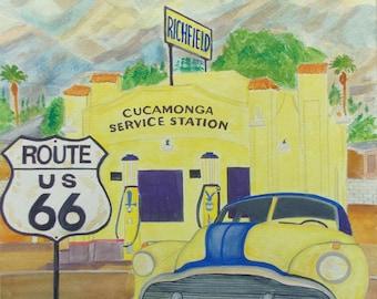 Cucamonga Garage RTE66