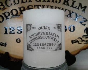 Ouija Wax Candle