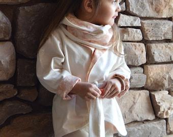 Fully Lined Jacket & Coordinating Scarf by Elaiza Jane