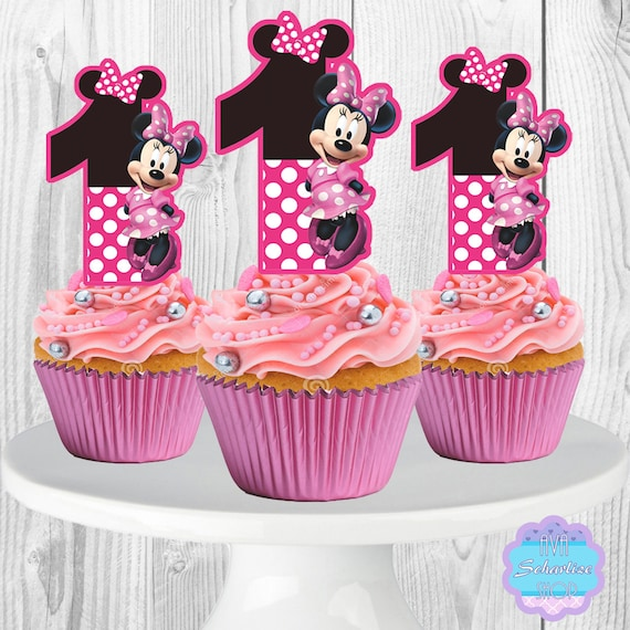 Selective image inside printable cupcakes