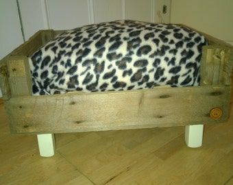Pet Bed in a Crate