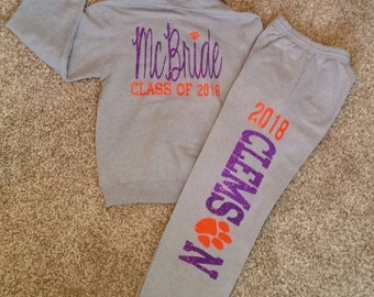 Customized Hoodie and Sweat Pants