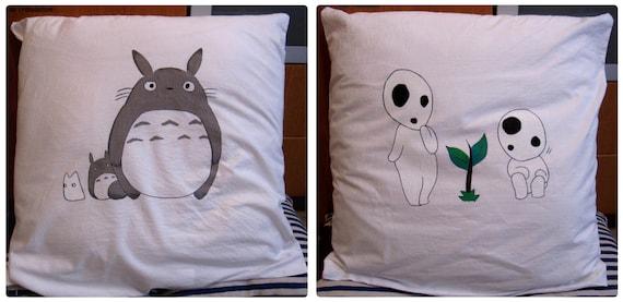 Pillowcase Totoro & Kodama