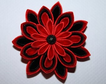 School/party handmade Girl's/Ladies hair clip, KANZASHI, free UK delivery