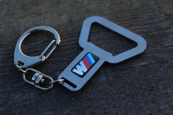 bmw motorsport stainless steel bottle opener keychain m3 m5 m6. Black Bedroom Furniture Sets. Home Design Ideas