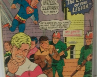 1967 Adventure Comics #359 Superboy and The Legion Of Super-Heroes The End Of The Legion  Fair-Good Vintage DC Comic Comic Book