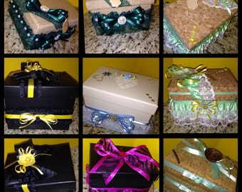 Keepsake Boxes for all occasions