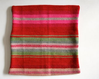 Hand-dyed Cuzco Pillow Cover  - One of a Kind, Hand Woven, Hand Dyed