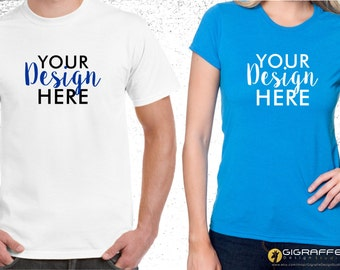 Custom t-shirt printing / Custom t-shirt design / Apparel design & printing / Design your t-shirts / Graphic tees / Unisex, women and youth