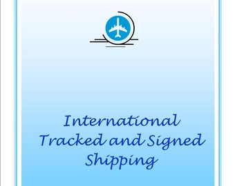 International Tracked and Signed Shipping