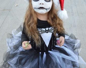 Custom made Jack Skellington costume from Nightmare before Christmas