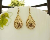Indian Tribal Earrings,Large Gypsy Earrings,Indian Earrings,Brass Earrings,Ethnic Earrings,Hippie Earrings,spiral earrings,Filigree Earrings