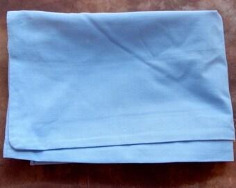 A Lovely Vintage Pillowcase , Good condition, shabby chic, retro, boho.Blue bedlinen.