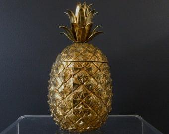 Original Pineapple Ice Bucket Mauro Manetti 1970's