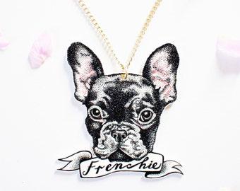 Personalised Pet Portrait Necklace