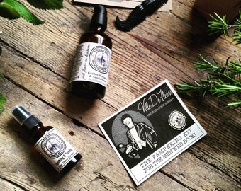 Pampering Kit for Man Who Rock - Fathers Day gift Gifts For Him Gift For Men