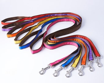 Dog Lead-Dog leash-Brightly coloured lead for dog-bright dog lead with matching personalised collar-dog leash in bright colours