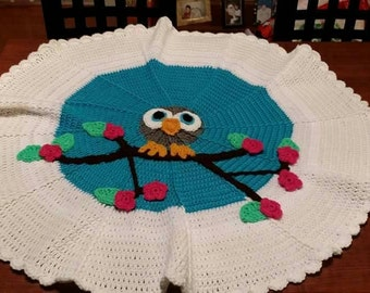 Owl Baby Blanket or throw