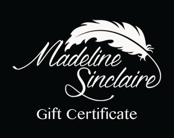 Gift Certificate for Burlesque Basics or Madeline Sinclaire- 50.00