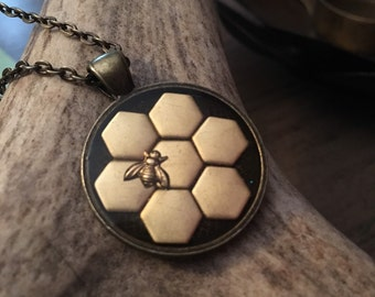 The Bee's Knees Pendant Necklace