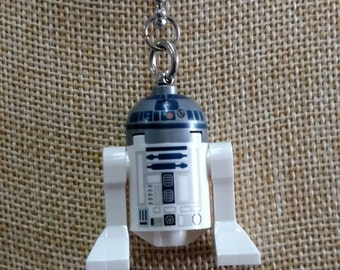 R2-D2 Necklace - (LEGO® Minifigure) - Star Wars, Droids, R2D2, Empire Strikes Back, Return of the Jedi, The Force Awakens